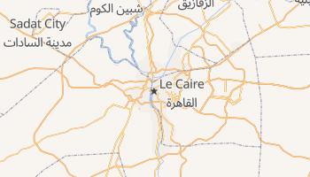 Carte en ligne de Le Caire