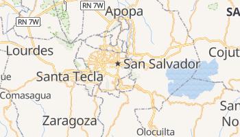 Carte en ligne de Salvador