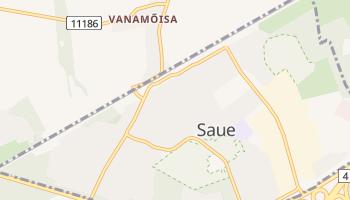 Carte en ligne de Saue