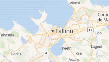 Carte en ligne de Tallinn