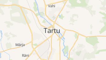 Carte en ligne de Tartu