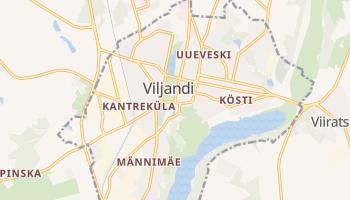 Carte en ligne de Viljandi