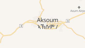 Carte en ligne de Aksoum