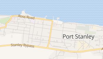 Carte en ligne de Port Stanley