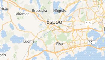 Carte en ligne de Espoo