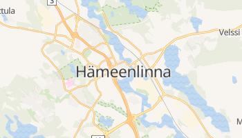 Carte en ligne de Hämeenlinna