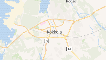 Carte en ligne de Kokkola