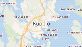 Carte en ligne de Kuopio