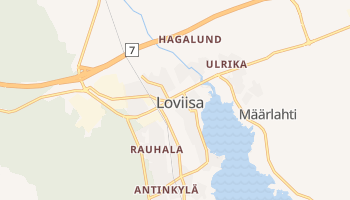 Carte en ligne de Loviisa