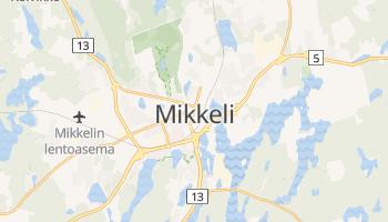 Carte en ligne de Mikkeli
