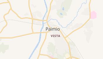 Carte en ligne de Paimio