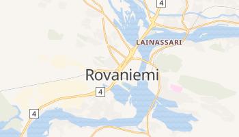 Carte en ligne de Rovaniemi