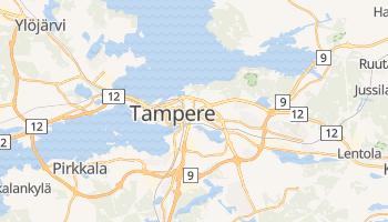 Carte en ligne de Tampere