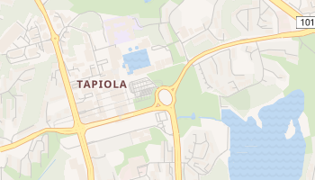 Carte en ligne de Tapiola