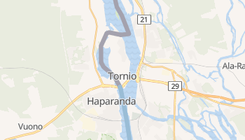 Carte en ligne de Tornio