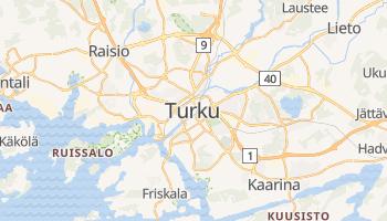 Carte en ligne de Turku