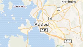 Carte en ligne de Vaasa