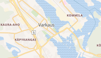 Carte en ligne de Varkaus