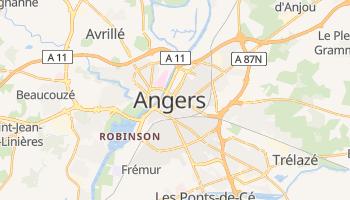 Carte en ligne de Angers