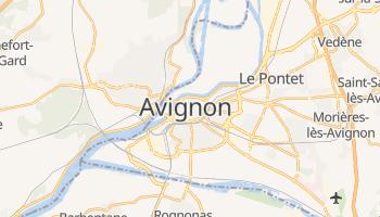 Carte en ligne de Avignon