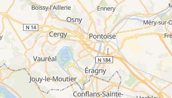 Carte en ligne de Cergy-Pontoise