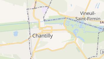 Carte en ligne de Chantilly