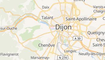 Carte en ligne de Dijon