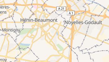 Carte en ligne de Hénin-Beaumont