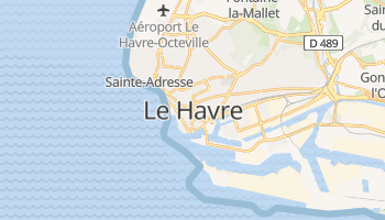 Carte en ligne de Le Havre