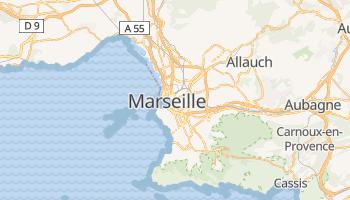 Carte en ligne de Marseille