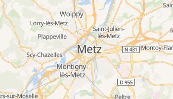 Carte en ligne de Metz