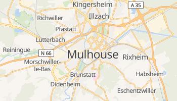 Carte en ligne de Mulhouse