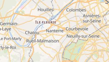 Carte en ligne de Nanterre