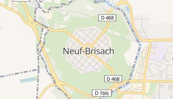 Carte en ligne de Neuf-Brisach