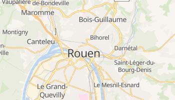 Carte en ligne de Rouen