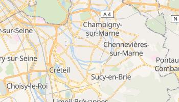Carte en ligne de Saint-Maur-des-Fossés