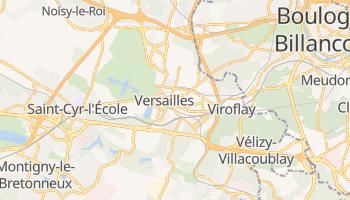 Carte en ligne de Versailles