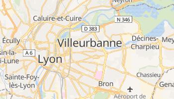 Carte en ligne de Villeurbanne