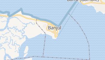 Carte en ligne de Banjul
