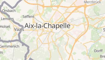 Carte en ligne de Aix-la-Chapelle
