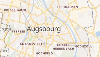 Carte en ligne de Augsbourg