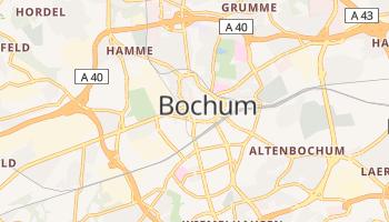 Carte en ligne de Bochum