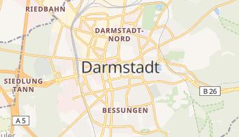 Carte en ligne de Darmstadt