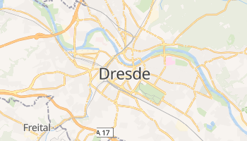 Carte en ligne de Dresde