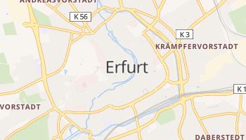 Carte en ligne de Erfurt