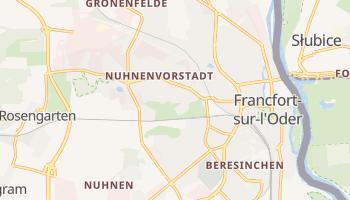 Carte en ligne de Francfort-sur-l'Oder