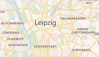 Carte en ligne de Leipzig