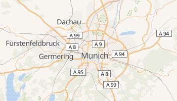 Carte en ligne de Munich