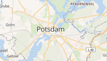 Carte en ligne de Potsdam