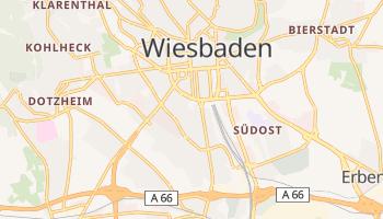 Carte en ligne de Wiesbaden